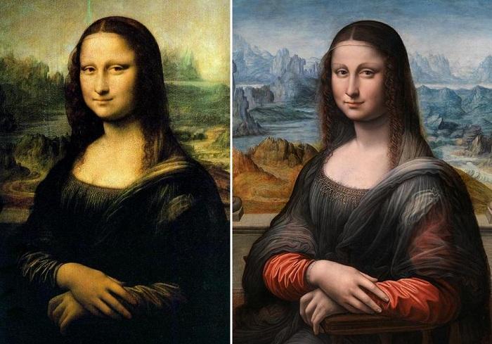 мона лиза прадо новая картина