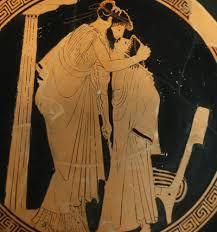 история поцелуев античность поцелуй