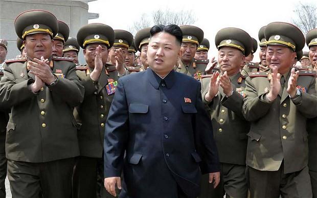 северная корея ким чен ын