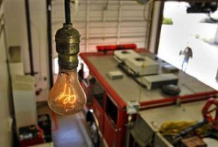 Удивительная лампочка Эдисона в Ливерморе (США)
