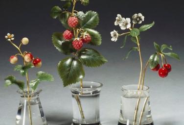 Драгоценные цветы и ягоды Карла Фаберже