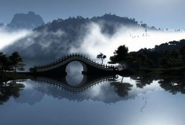 Лунный мост в Тайбэе (Тайвань)