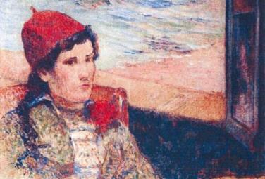 «Девушка перед открытым окном», 1898, Поль Гоген